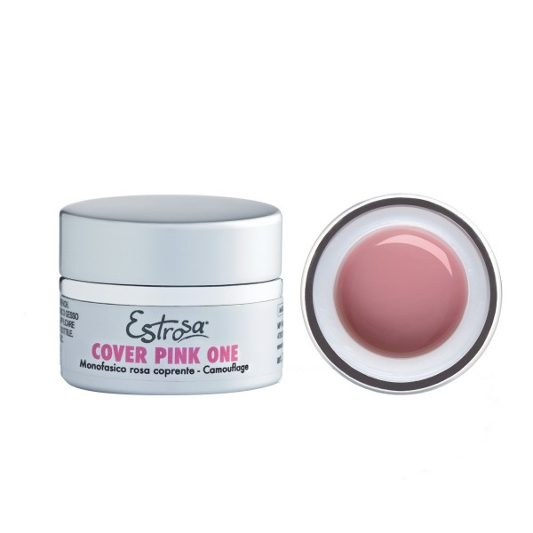 GEL CAMOUFLAGE COVER PINK ONE - ROSA COPRENTE 30 ML - Estrosa