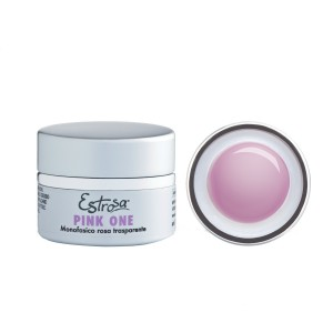 GEL PINK ONE - ROSA TRASPARENTE 30 ML - Estrosa