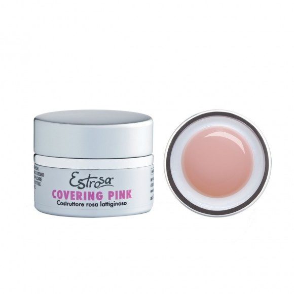 GEL COVERING PINK - COSTRUTTORE ROSA LATTIGINOSO 30 ML - Estrosa