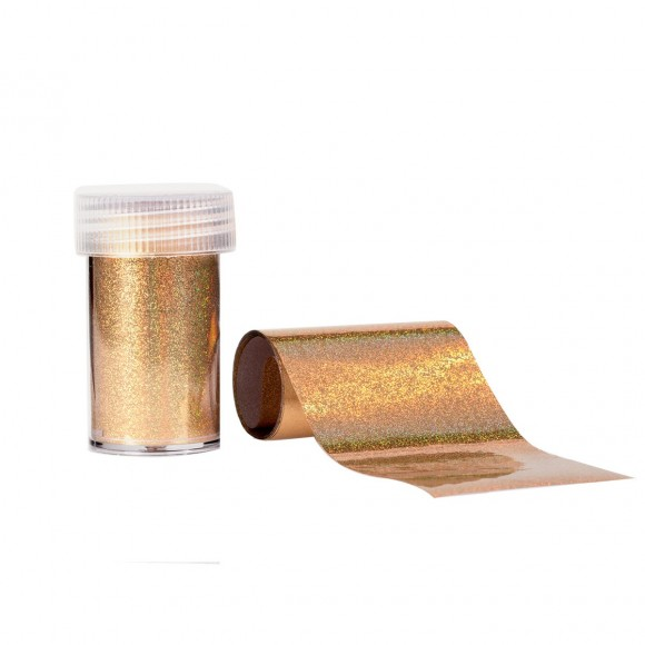 Transfer Effect - Holographic GOLD - Estrosa