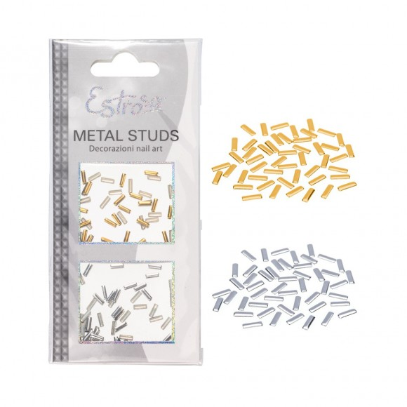 Borchie Metal Studs - LINE 2 mm - Estrosa