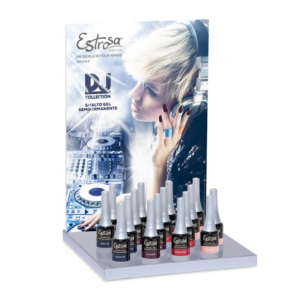 Espositore completo - Collezione DJ COLLECTION 7 ml - Estrosa