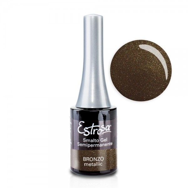 Smalto semipermanente - BRONZO - 14 ml - Estrosa