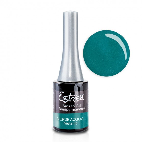 Smalto semipermanente - VERDE ACQUA - 14 ml - Estrosa