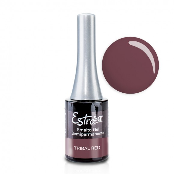 Smalto semipermanente - TRIBAL RED - 14 ml - Estrosa