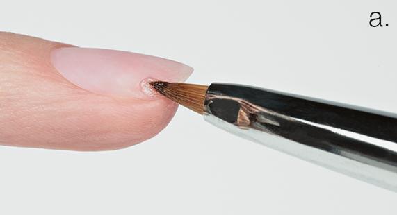 Estrosa Nails - Tutorial: riparare e ricostruire l'unghia applicando la polvere acrilica riparatrice universale Magic Powder Estrosa