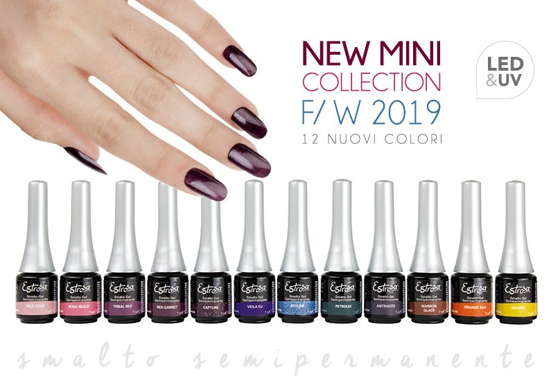 Mini Collection Estrosa 2019 - F/W Smalto semipermanente 7 ml